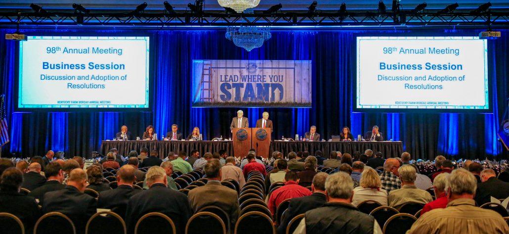 Kentucky Farm Bureau's Annual Conference